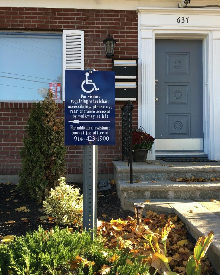 Handicapped access available